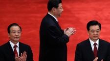 Chinese President Hu Jintao, Premier Wen Jiabao, Vice President Xi Jinping
