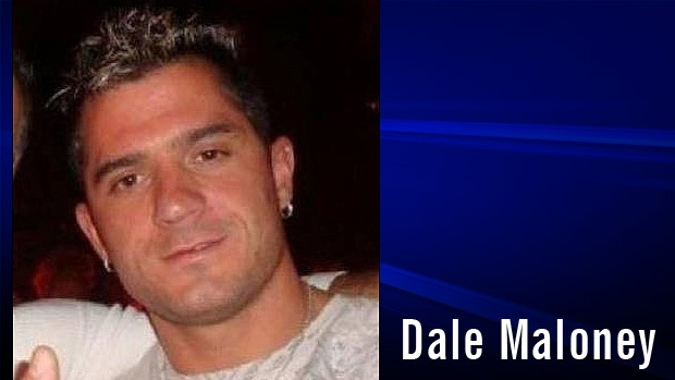 Dale Maloney, 33, is shown in an undated photo. Supplied.