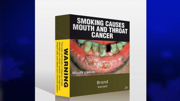 Australian cigarette pack