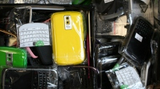 Counterfeit cellphone items seized in Winnipeg