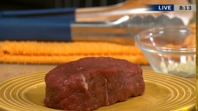 Air North Chef Michael Bock prepared a tasty bison roast and cranberry relish on Canada AM, Aug. 16, 2012..