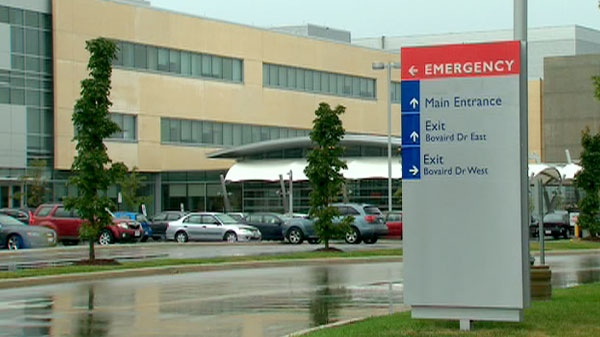 Officials confirm a patient at the William Osler Health System facility in Brampton tested positive for the NDM-1 gene.
