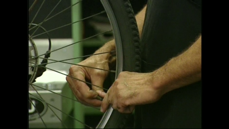 Cyclists are reminded to be cautious after an experienced rider was thrown from his bike on Ira Needles Boulevard in Waterloo, Ont.