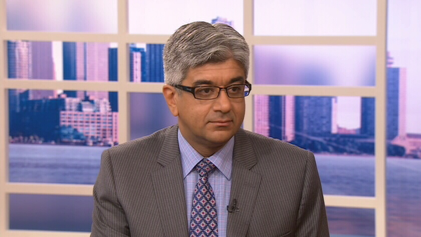 Dr. Nizar Mahomed speaks to CTV's Canada AM about new research that explores using stem cells to treat arthritis on Friday, Aug. 17, 2012.