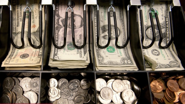 The cash drawer at a Utah pharmacy is seen in this March 30, 2011 file photo.