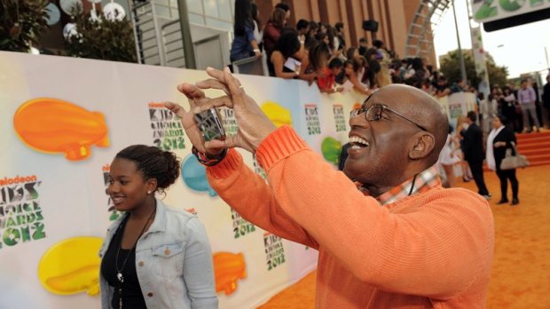 Al Roker in Los Angeles on March 31, 2012.