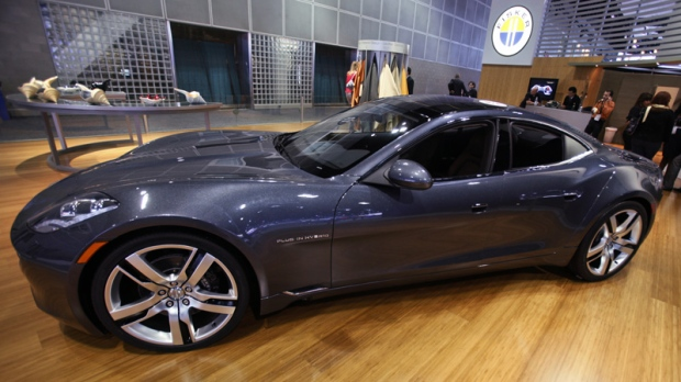 Fisker Automotive lays off 75 per cent of staff