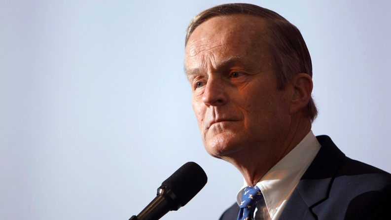 U.S. Rep. Todd Akin, R-Mo., announces his candidacy for U.S. Senate, in Creve Coeur, Mo., in this May 17, 2011 file photo. (AP / Jeff Roberson)