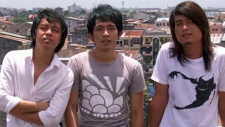 Members of Myanmar punk band 'Side Effect' (courtesy 'Side Effect')