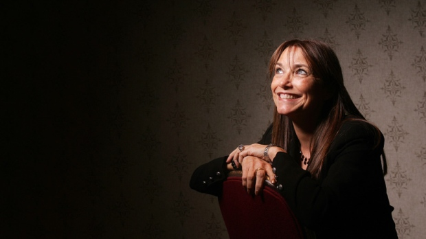 Karen Allen poses in Toronto on Sept. 14, 2011.