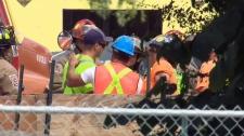 Crane collapse rescue Toronto