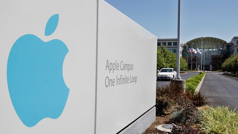 Apple headquarters are shown in Cupertino, Calif., Monday, Aug. 20, 2012. (AP / Paul Sakuma)