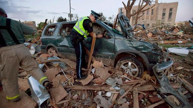 Goderich tornado damage