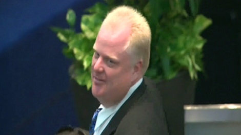 Coun. Rob Ford (Ward 2, Etobicoke North) in city council chambers on Wednesday, Aug. 25, 2010.