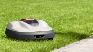 In this undated photo released by Honda Motor Co.,it's new product lawn mower Miimo. (AP Photo/Honda Motor Co.)