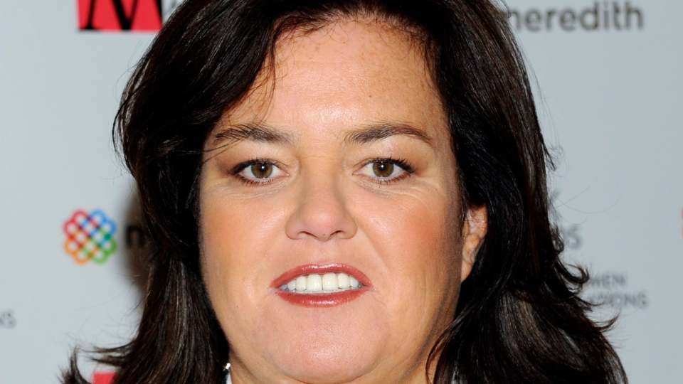 Television personality Rosie O'Donnell attends the New York Women in Communications' 2011 Matrix Awards in New York on  April 11, 2011.  (AP /Evan Agostini, file)