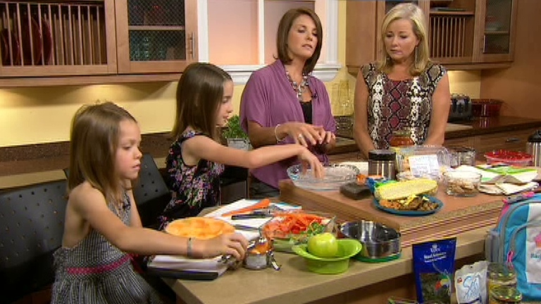 Nutritionist Lianne Phillipson-Web shared a lunchbox recipe for parents and their children to prepare on CTV's Canada AM on  Aug. 22, 2012..