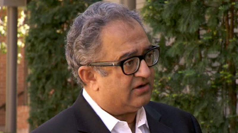Tarek Fatash, the founder of the Muslim Canadian Congress, criticizes radical Islam, Thursday, Aug. 26, 2010.