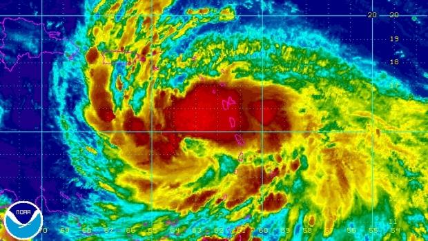 Tropical Storm Isaac, NOAA