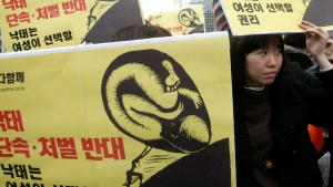 South Korea abortion ban