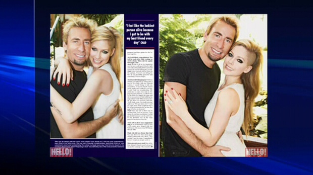 In this week's issue of Hello! Canada magazine, Nickelback frontman Chad Kroeger and rocker Avril