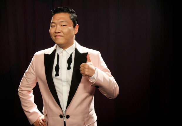 PSY in New York, Aug. 22, 2012.