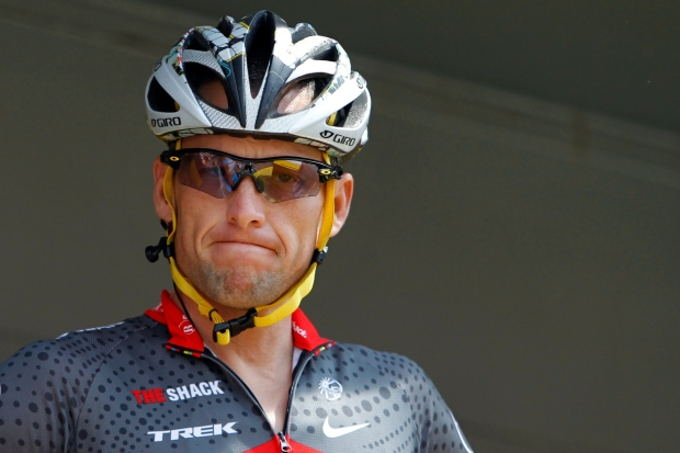 Lance Armstrong stripped of 7 Tour de France titles