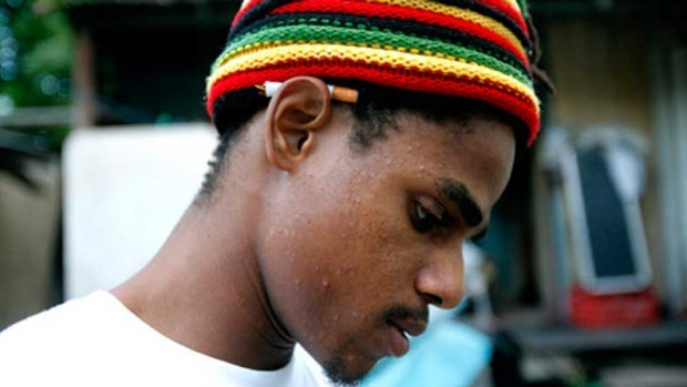 Reggae musician Matthew McAnuff.