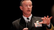 Navy Adm. Bill McRaven