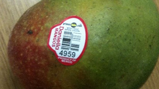 Daniella brand mangoes