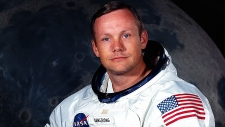Neil Armstrong is shown in this undated photo provided by NASA.