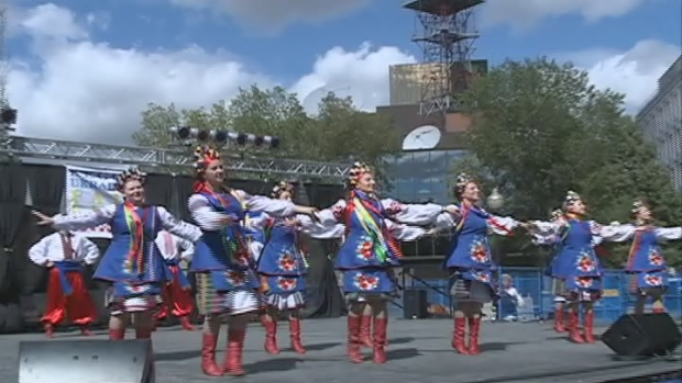 Regina's Ukrainian community celebrated its heritage with the Ukrainian Festival