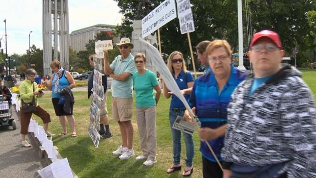 CLBC protest