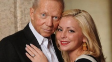 Maygan Sensenberger poses with her husband, Rod Zimmer, in an undated Facebook photo.