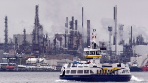 The Imperial Oil refinery is seen in Dartmouth, N.S. on Thursday, May 17, 2012. (THE CANADIAN PRESS/Andrew Vaughan)