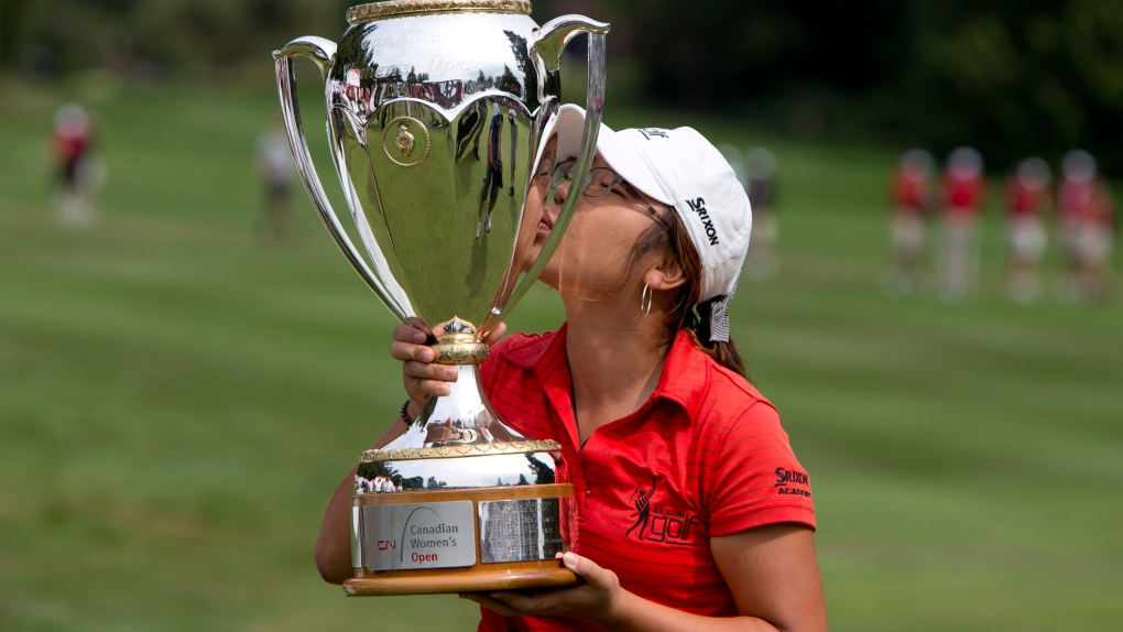 15-year-old amateur wins Canadian Women's Open