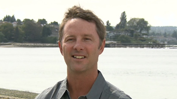Former CNN cameraman, Peter Williams speaks to CTV News in this undated photo in Vancouver.