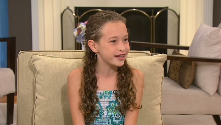 Ten-year-old Halle Tator helped Bruce Springsteen rock the Rogers Centre in Toronto on Friday, Aug. 24. The two performed 'Waiting On A Sunny Day' before 40,000 Springsteen fans.