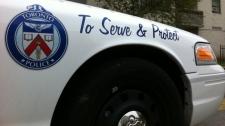 Toronto police cruiser file photo