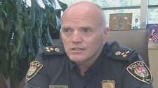 Ottawa police chief Vern White says terror threats are the new reality, Tuesday, Aug. 31, 2010.