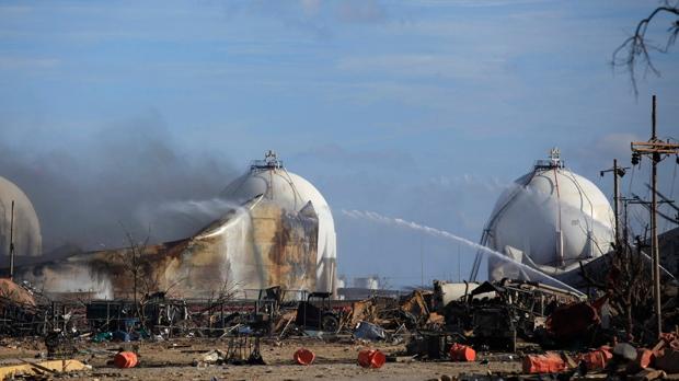 Venezuela oil refinery fire