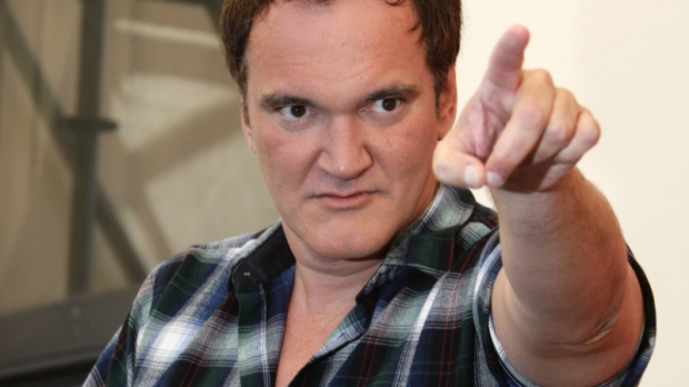 Quentin Tarantino gestures during the jury photo call at the 67th edition of the Venice Film Festival in Venice, Italy, Wednesday, Sept. 1, 2010. (AP / Domenico Stinellis)