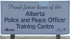 The province has cancelled funding for a $122 million police training college in southern Alberta.