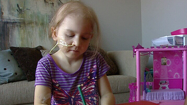 A St. Albert family is desperate to find a bone-marrow match for their five-year-old daughter who has been diagnosed with a rare form of leukemia.
