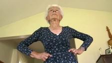 96-year-old Ida Herbert