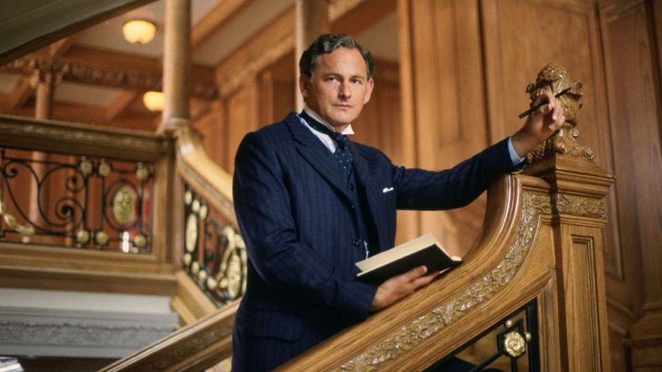 Actor Victor Garber as Thomas Andrews in 'Titanic.'