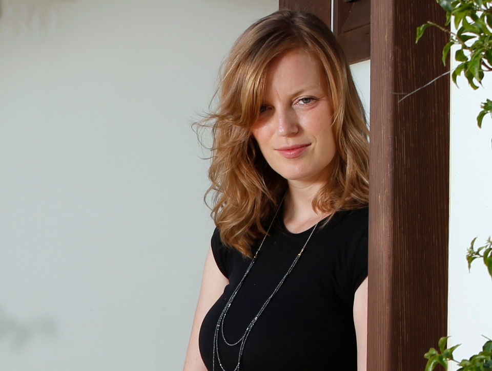 Actress and director Sarah Polley poses for portraits during the 69th edition of the Venice Film Festival in Venice, Italy, Thursday, Aug. 30, 2012. (AP / Joel Ryan)