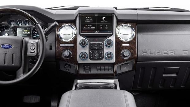 2013 F-Series Super Duty pickup truck