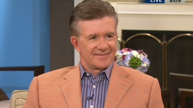 Actor Alan Thicke discussed his new role in 'Queen for a Day: The Musical,' on CTV's Canada AM on Aug. 30, 2012.