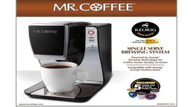 Mr. Coffee brewers recall